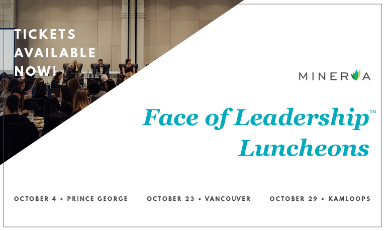 upcoming Face of Leadership™ luncheons